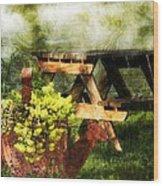 Picnic Daydream Wood Print