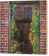 Picture Window Wood Print