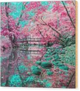 Pike River Wood Print