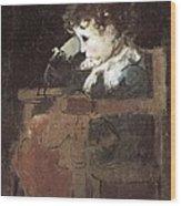 Pinazo Camarlench, Ignacio 1849-1916 Wood Print
