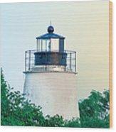 Piney Point Maryland Lighthouse Wood Print