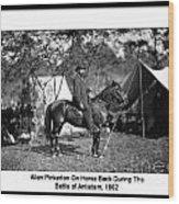Pinkerton Man Wood Print