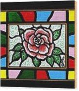Pinkish Rose Wood Print