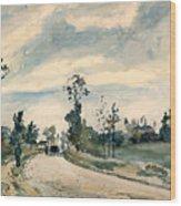 Pissarro Louveciennes Wood Print