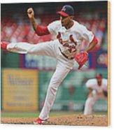 Pittsburgh Pirates V St. Louis Cardinals Wood Print
