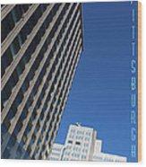 Pittsburgh Skyline Wood Print