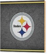 Pittsburgh Steelers Wood Print by Joe Hamilton