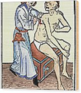 Plague Physician, 1482 Wood Print