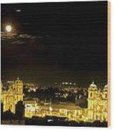 Plaza De Armas Cuzco Peru Wood Print