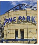 Pnc Park Baseball Stadium Pittsburgh Pennsylvania Wood Print