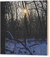 Point Of Light Wood Print