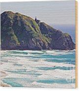 Point Sur Lighthouse Wood Print