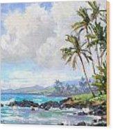 Poipu Beach #1 Wood Print