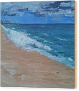 Pompano Beach Wood Print