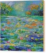Pond 454190 Wood Print