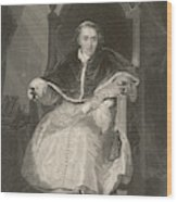 Pope Pius Vii (luigi Barnabo Wood Print