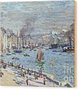 Port Of Le Havre Wood Print