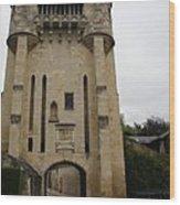 Porte Du Croux Nevers  Wood Print