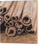 Portion Of Cinnamon Wood Print