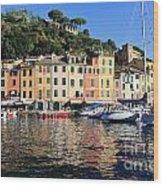Portofino - Italy Wood Print