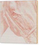 Portrait Head Wood Print
