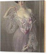 Portrait Of Ena Wertheimer Wood Print