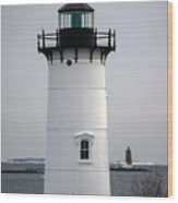 Portsmouth Harbor Light Wood Print