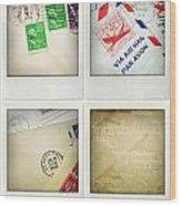 Postal Still Life Wood Print