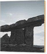 Poulnabrone  Wood Print