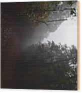 Roads14 Wood Print