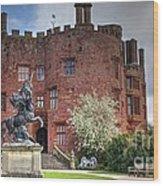 Powis Castle Wood Print