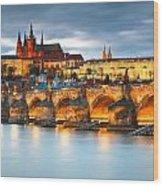 Prague Castle. Wood Print