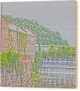 Prattville Hdr Wood Print