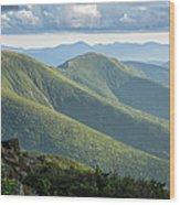 Presidential Range - White Mountains New Hampshire Wood Print