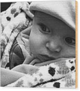 Presious Baby Wood Print