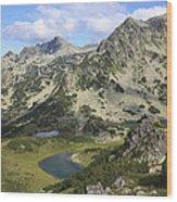 Prevalski And Valyavishki Lakes Pirin National Park Bulgaria  Wood Print