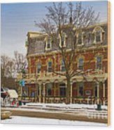 Prince Of Wales Hotel In Niagara On The Lake Wood Print