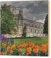 Priory Church Dunstable Wood Print