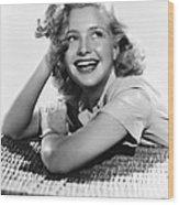 Priscilla Lane, Ca. 1940 Wood Print