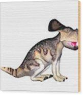 Protoceratops Dinosaur Wood Print