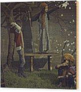 Puccini's Tales Wood Print