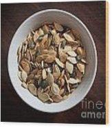Pumpkin Seeds Wood Print