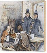 Puritan Tavern Inspection Wood Print