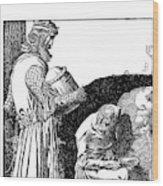 Pyle King Arthur Wood Print