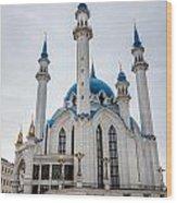 Qolsharif Mosque Wood Print