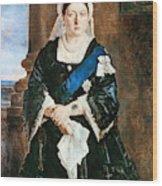 Queen Victoria Of England (1819-1901) Wood Print