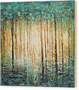 'quiet' Wood Print