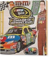 Race For The Cup 2008 Wood Print