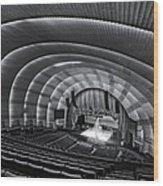 Radio City Music Hall Theatre Wood Print