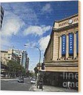 Railway Station Adelaide Wood Print